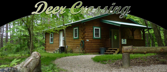 Awesome Escape To The Tranquility Of The Deer Crossing Log Cabin. Whether Relaxing  Inside By The Stone Wood Burning Fireplace Or Enjoying Countless Stars  While ...